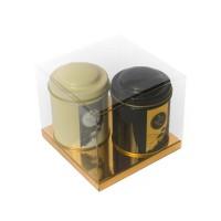 DUO NOIR & BLANC / thé noir