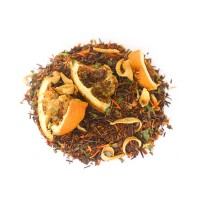 Rooïbos orange, menthe, fleurs